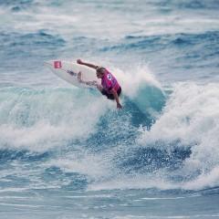 Le championnat de france de surf féminin à Biarritz tombe à l'eau