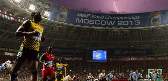 Usain Bolt, sextuple champion du monde et champion olympique