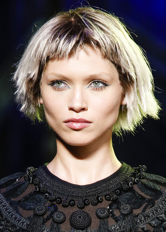 Marc Jacobs ss 2014 chop hair