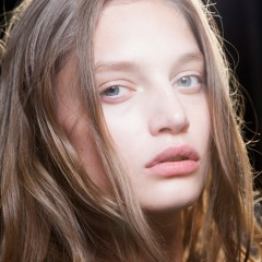 La tendance No Make Up d'Alexander Wang