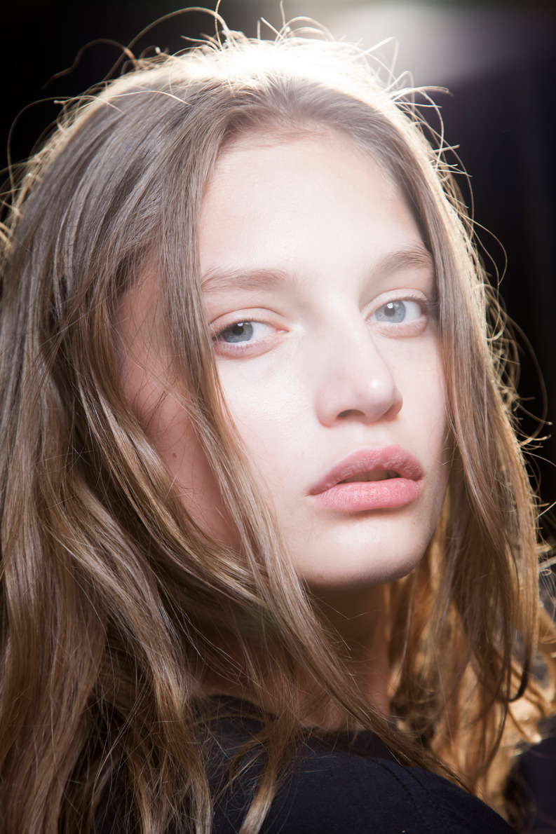 alexander wang no make up ss 2014