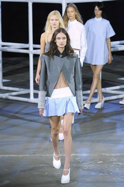 alexander wang pap ss 2014 no make up