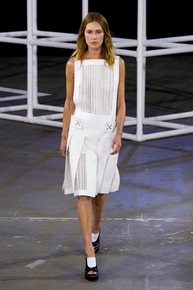 erin wasson no make up alexander wang pap ss 2014