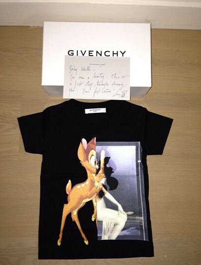 bébé north west bambi givenchy mode tendance