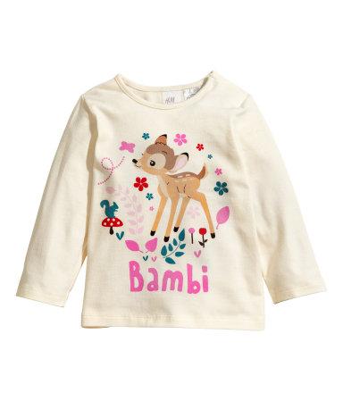 h&m bambi bébé tendance mode fille