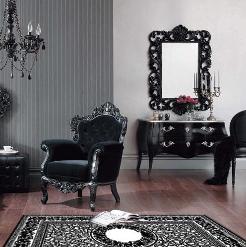 Le style baroque pour une d co chic et exub rante weegora for Living room coiffeur