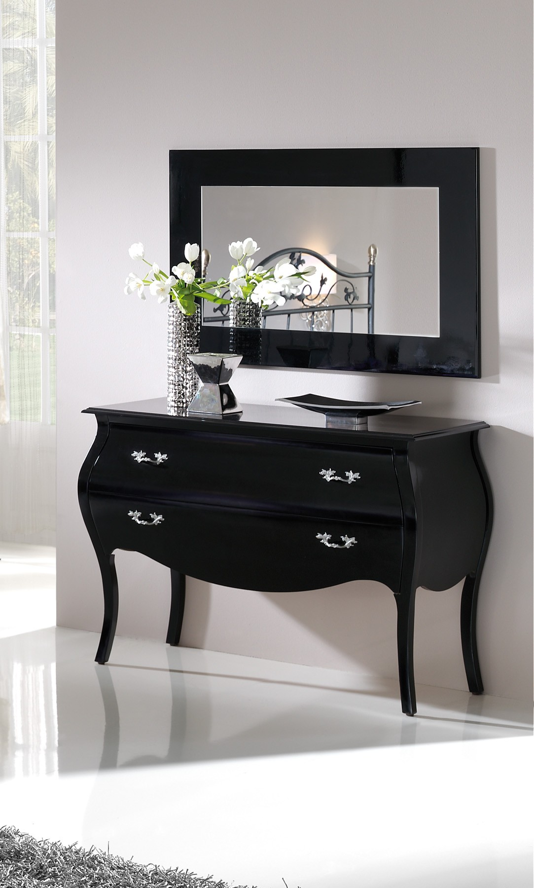grand miroir baroque pas cher maison design. Black Bedroom Furniture Sets. Home Design Ideas