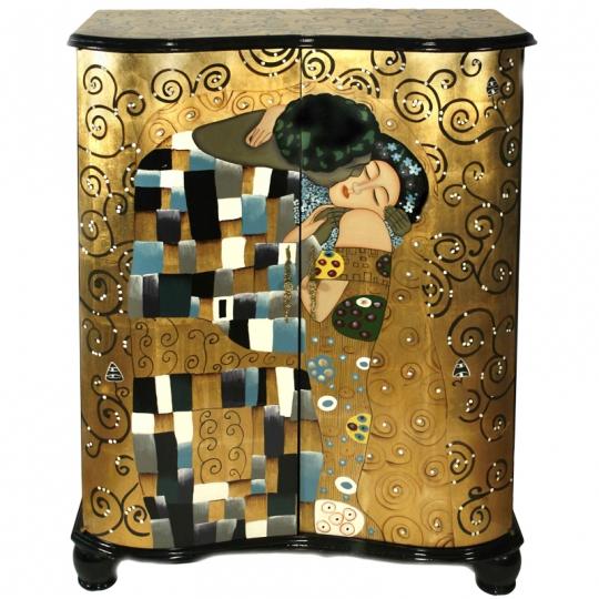 meuble design laqué Le Biaser de Klimt