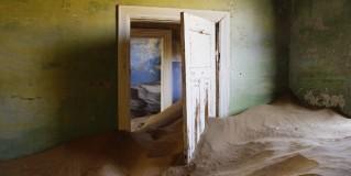 Dans la ville abandonnée