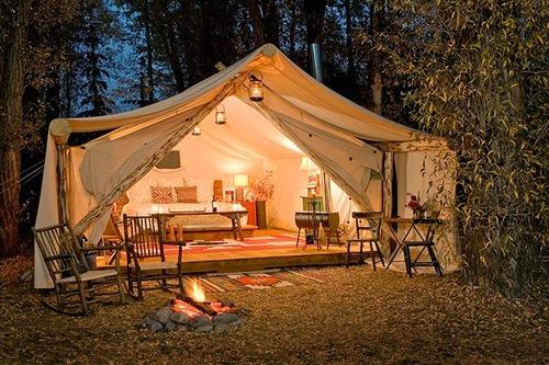 glamping tente 2