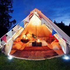Le Glamping, le camping glamour qui a tout bon!