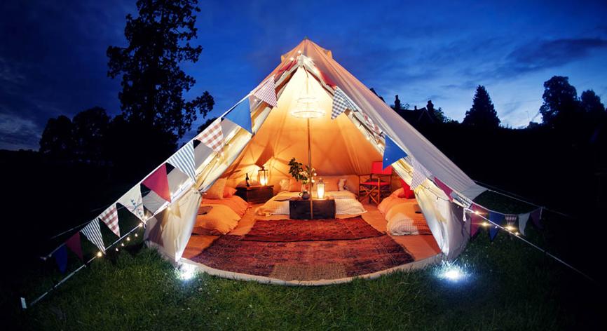 glamping tente