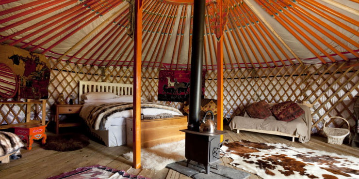 yourte glamping