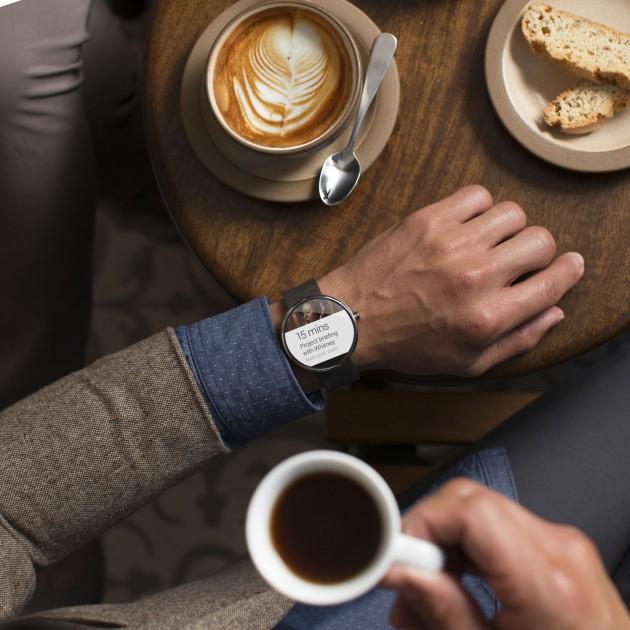 Smartwatch poignets