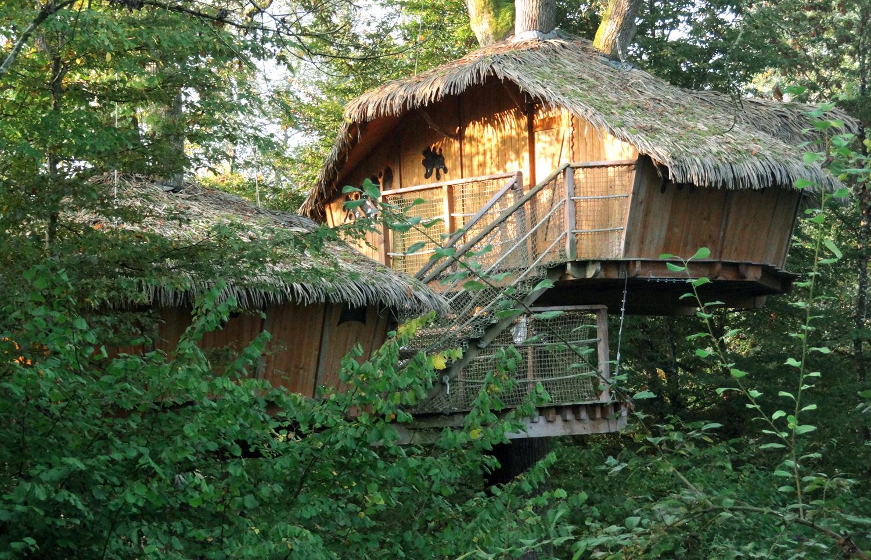 cabane en Franche Comté