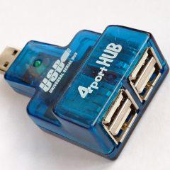 Une multiprise USB (HUB) pour connecter plusieurs appareils sur son PC