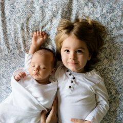 Le pyjama, le premier vêtement pour un enfant