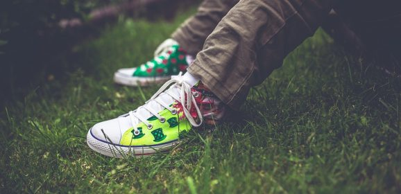 Zoom sur la customisation de sneakers